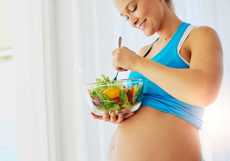alimentação para grávida