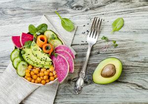 Dieta vegana para secar de forma saudável