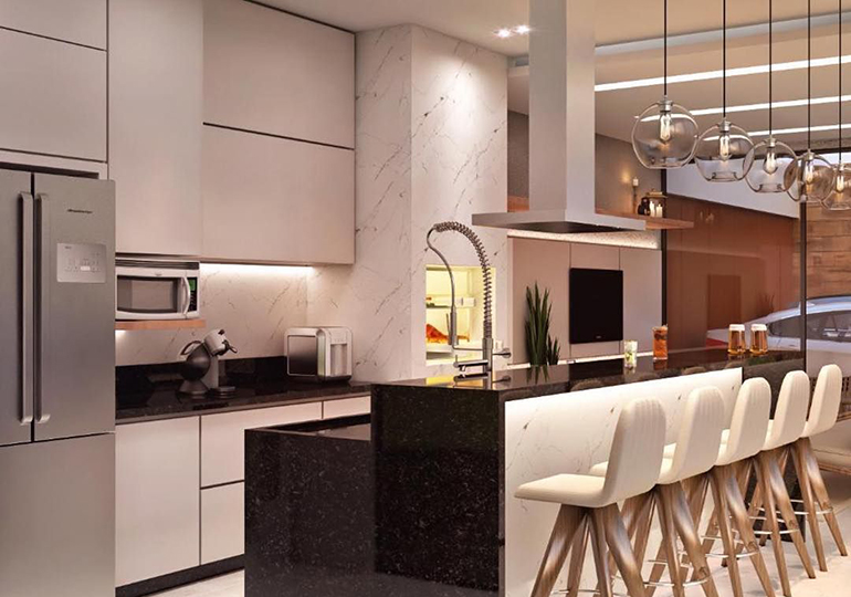Cozinha gourmet: Tendência que traz conforto e socialização no espaço mais querido da casa
