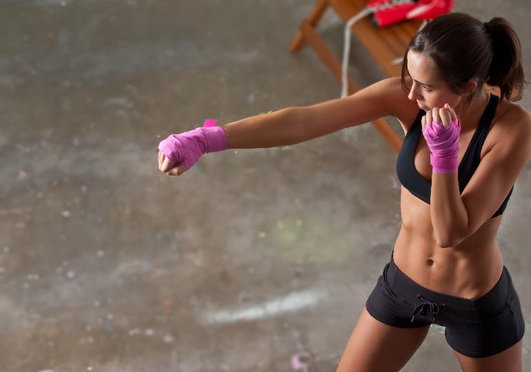 aula de Kickboxing