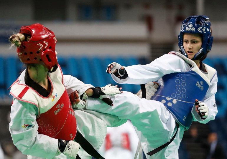 Pratique Taekwondo
