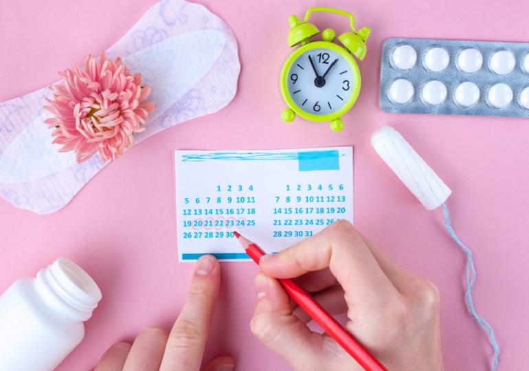 menstruação na dieta hcg